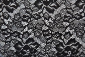 Background from black lace — Stock Photo