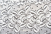 White lace with pattern in the manner of flower — Stock Photo
