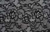 Background from black lace with pattern with form flower — Stockfoto