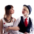 Two girls will wipe friend on friend — Stockfoto #4431296