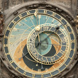 Stock Photo: Clock on Old Living surface in Prague