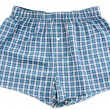 Stock Photo: Men's plaid shorts