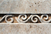 Carved patterns in marble — Stock Photo