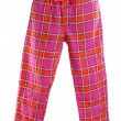 Plaid pajama pants — Photo