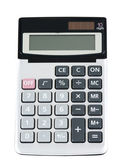 Plastic electronic calculator — Stock Photo