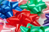 Color of gift ribbons — Foto Stock