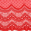 Decorative red lace — Stock Photo #4961794