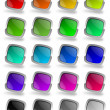 Royalty-Free Stock Photo: Colorful glossy buttons