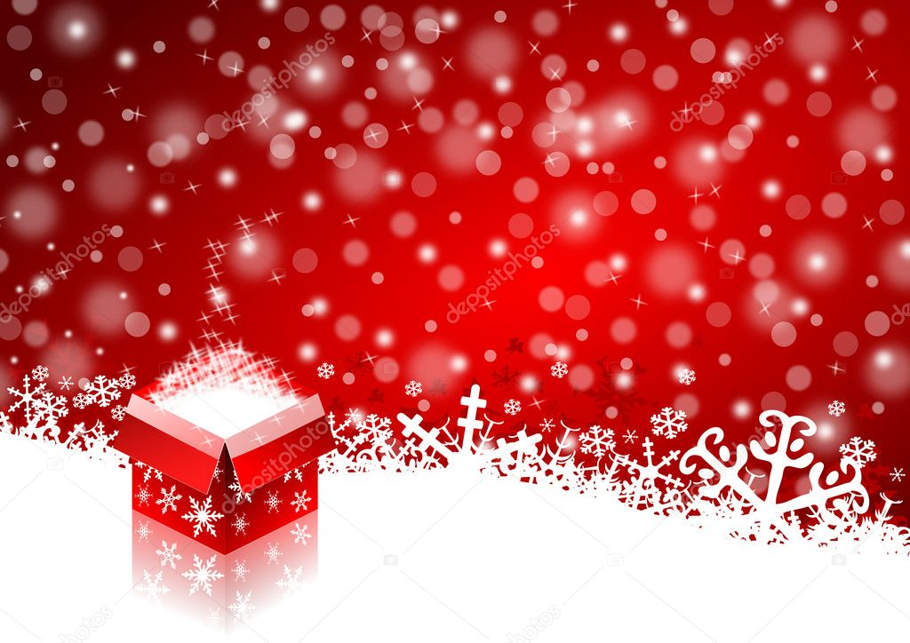 Christmas background — Stock Photo #4272935