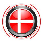Deense glanzende knop — Stockfoto