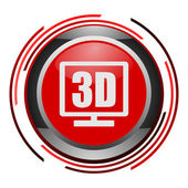 3d glossy icon — Stock Photo