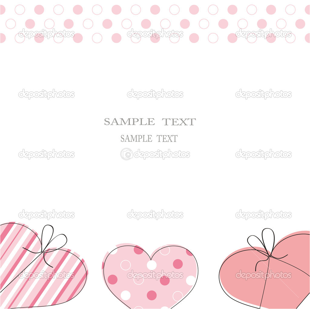 Cute card on festive occasion — Image vectorielle #4511063
