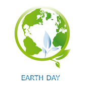 Earth Day — Vetor de Stock
