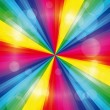 Rainbow background — Imagen vectorial