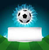 Football background — Stok Vektör