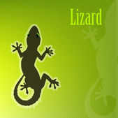 Lizard vector — Stock Vector