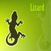 Lizard vector — Stock Vector