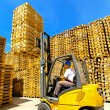 Forklift — Stock Photo #3934525
