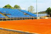 New tennis court — Stock Photo