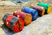 Oil barrels — Stock Photo