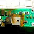 Damaged circuit board - Stockfoto