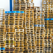 Pallets stack — Stock Photo