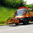 Road maintenance — Stockfoto