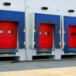 Stock Photo: Dock doors