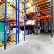 Stock Photo: Warehouse racks