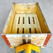 Stock Photo: Box pallet