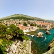 Dubrovnik aerial — Stock Photo