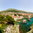 Royalty-Free Stock Photo: Dubrovnik aerial