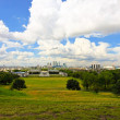 Greenwich park panorama — Stock Photo