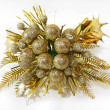 Gold corsage — Stock Photo