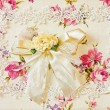 Silk decor — Stock Photo