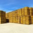 Royalty-Free Stock Photo: Euro pallets