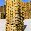 Stock Photo: Pallet stack