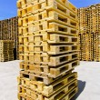 Royalty-Free Stock Photo: Pallet stack