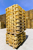 Pallet stack — Stock Photo