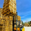 Royalty-Free Stock Photo: Forklift loads