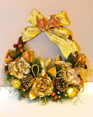 Gold wreath — Stock Photo