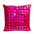Stock Photo: Pink pillow