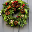 Christmas wreath — Stock Photo #4281474