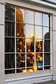 Vánoční okno — Stock fotografie