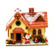 Christmas house — Stockfoto