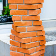 Bricks helix — Stock Photo #4308229