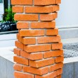 Bricks helix - Stock Photo
