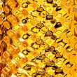Golden pattern - Stock Photo
