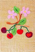 Cherry craft — Stock Photo