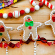 Gingerbread ornament — Stock Photo